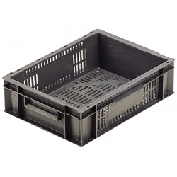 Euro Stacking Perforated Containers (400 x 300 x 118)
