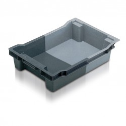 Euro Stack and Nest Container - Solid (18 litre)
