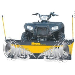 PathPro 1.5m Snow Plough for ATV/Quad/ZTR