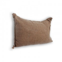Hessian Self-Inflating Sandbag