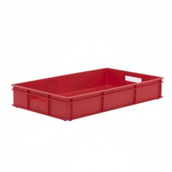 Stacking Container 30L - Solid with Hand Holes