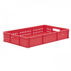 Stacking Container 30L - Mesh Sides with Hand Holes