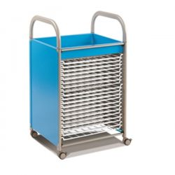 Callero Art Storage Trolley with Drying Racks