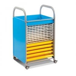 Callero Art Trolley with Trays And Drying Racks