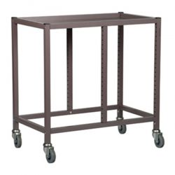 Double Column Storage Trolley - 725mm high