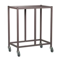 Double Column Storage Trolley - 850mm high