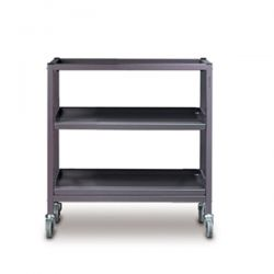 Double Trolley with Shelves