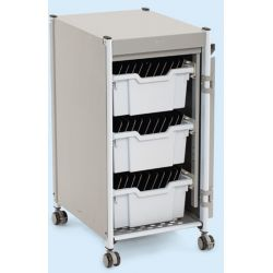 Power Trolley Charge & Sync - with Deep Trays