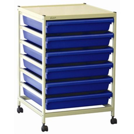 A3 Paper Trolley with Trays