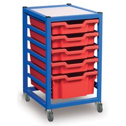 Single Column Classroom Trolley