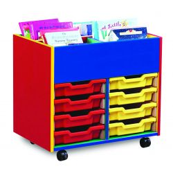Colour My Word 4 Bay Kinderbox with Mixed Trays (2 Columns of 4)