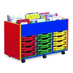Colour My Word 6 Bay Kinderbox with Mixed Trays (3 Columns of 4)