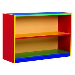 Colour My Word Bookcases with Adjustable Shelves
