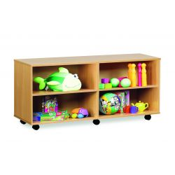 Open Shelf Unit with 4 Compartments (2 Columns)