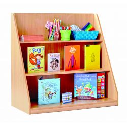 Library Unit with 3 Fixed Shelves