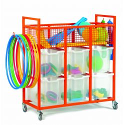 Sports Trolley (3 Columns of 2)
