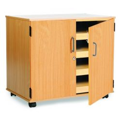 4 Sliding Drawer A1 Paper Storage with Doors