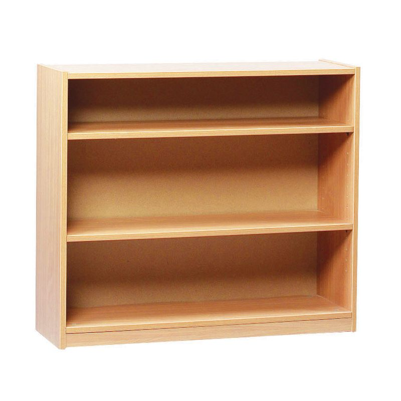 Open Bookcase With 2 Shelves