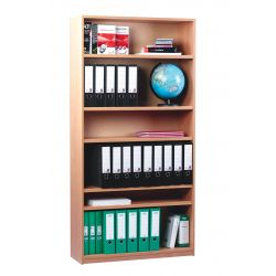 Open Bookcase - 5 Shelves - 1.8m Height