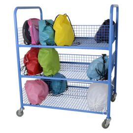Mobile Lunchbox Trolley - Double Sided