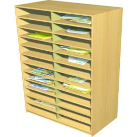 24 Space Double Bay Pigeonhole Unit