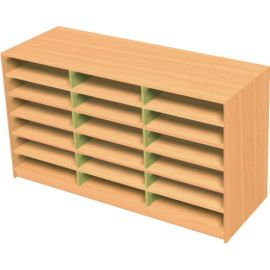 18 Space Triple Bay Pigeonhole Unit