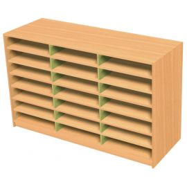 21 Space Triple Bay Pigeonhole Unit