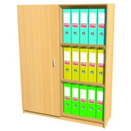 30 Space Box File Storage Cupboard