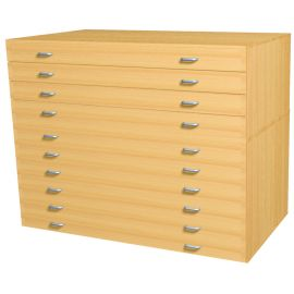 A1 Size 10 Drawer Plan Chest - Mobile