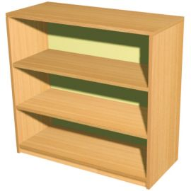 3 Shelf Economy Bookcase - 745mm Wide