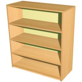 4 Shelf Economy Bookcase - 745mm Wide