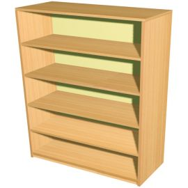 5 Shelf Economy Bookcase - 745mm Wide