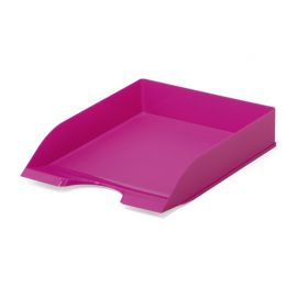 Letter Tray - Opaque Pink - Pack of 6
