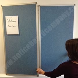 Slimline Cara Confidential Tamperproof Notice Board