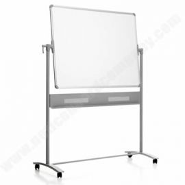 Double Sided Mobile Magnetic Whiteboard - Free Standing