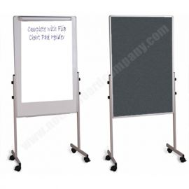 Double Sided Duo Mobile Board - Free Standing