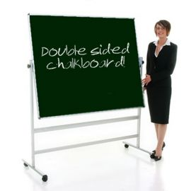 Double Sided Mobile Chalk Board