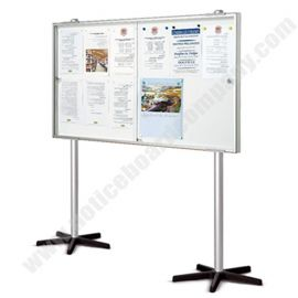 Double Sided Allure Mobile Magnetic Board