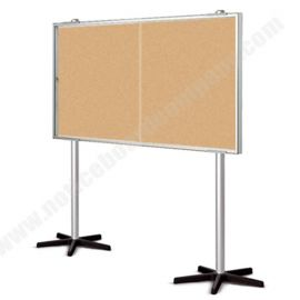 Double Sided Allure Mobile Cork Board