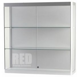 Wall Mounted Glass Display Case - 1000mm