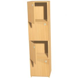 350mm Deep Locker - 4 Doors