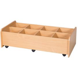 KubbyKraft Extra Long Low Kinderbox - 8 Compartments