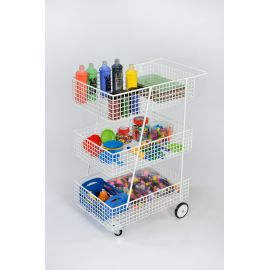 General Purpose 3 Tier Trolley