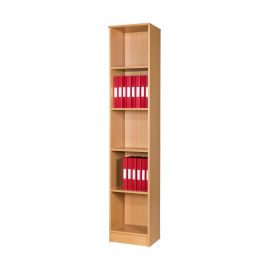 25 Space Slimline Box File Unit in Beech