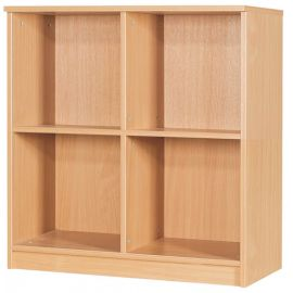 20 Space Open Box File Unit in Beech