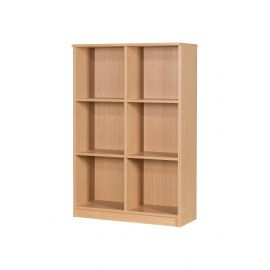 30 Space Open Box File Unit in Beech