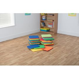 Rainbow™ Square Cushions Set of 32 (without trolley)