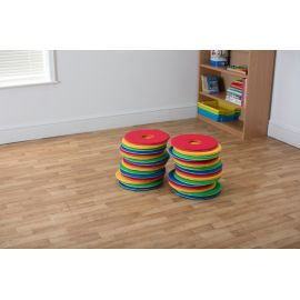 Rainbow™ Circular Cushions Set of 32 (without trolley)