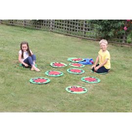 Back to Nature™ Counting Ladybird Outdoor Play™ Mats