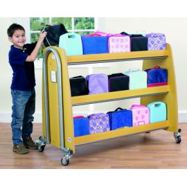 Tuf2™ Single Lunchbox Trolley